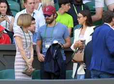 Bradley Cooper and Irina Shayk's display of affection at Wimbledon|Lainey Gossip Entertainment Update