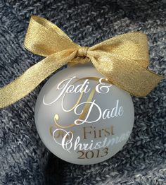 Hey, I found this really awesome Etsy listing at http://www.etsy.com/listing/113835643/our-first-christmas-ornament