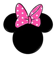 Moños y siluetas de Minnie.