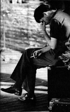 Ian Curtis by Anton Corbjn