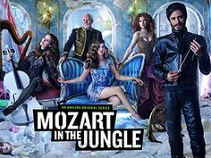 Mozart in the Jungle starring Gael Garcia Bernal as maestro Rodrigo with major mañana attitude and I love it!