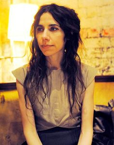 When under ether, the mind comes alive, but conscious of nothing, but the will to survive. ~PJ Harvey (When under ether) Music Pics, Music Pictures, Women In Music, People Of Interest, Female Singers, Female Guitarist, Girl Power, Power Pop, Amazing Women