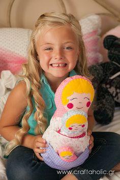 Babushka dolls  Matryoshkas by CraftaholicShop on Etsy, €35.00