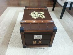 A Disney Princess in the real world : DIY Harry Potter trunk!