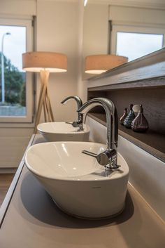 - wohnung zürich - designed by objekt 13 Innenarchitekur - Sink, Home Decor, Sink Tops, Vessel Sink, Decoration Home, Room Decor, Vanity Basin, Sinks, Home Interior Design