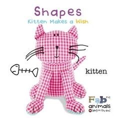 FABric Animals Padded Board Book - Shapes