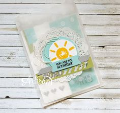 Over the Rainbow, Sketched Dots Tag A Bag Gift Bags, Circle Card Thinlits Dies -Inge Groot-
