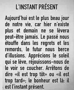 les plus beaux proverbes Description L'instant Citation Silence, Silence Quotes, French Words, French Quotes, Positive Attitude, Positive Life, Words Quotes, Life Quotes, Sayings