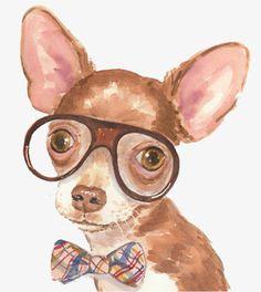 Resultado de imagem para aquarela cachorro