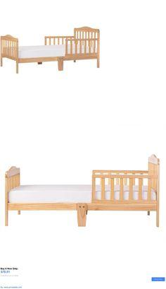 Kids Furniture: Natural Toddler Bed Children Bedroom Furniture Sleep Crib Dream On Me Classic BUY IT NOW ONLY: $78.91 #priceabateKidsFurniture OR #priceabate