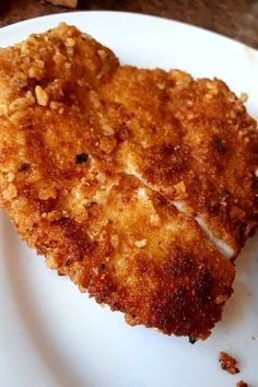 Amazingly Tasty and Crispy Chicken Schnitzel Recipe – Recipes – Appetizers for party - Germany Rezepte Schnitzel Recipes, Chicken Schnitzel, Chicken Cutlets, Turkey Dishes, Turkey Recipes, Carne, Baked Chicken Recipes, Oven Fried Chicken, Baked Chicken Breast