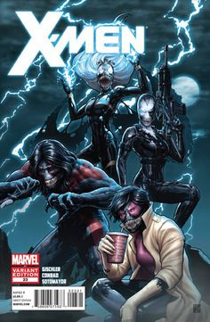 X-Men #23 Venom Variant Cover by John Tyler Christopher