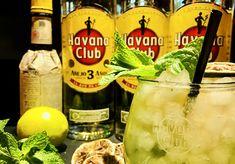 Mojito tradicional Havana Club 3Años Vodka Bottle, Water Bottle, Havana Club, Mojito, Drinks, 3 Year Olds, Traditional, Drinking, Beverages