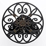 #10: Liberty Garden Products 670 Decorative Anti-Rust Cast Aluminum Wall-Mounted Garden Hose Butler/Hanger with 125-Foot Capacity Antique Patina Finish https://www.facebook.com/happyvoice927/shop?rt=16 https://youtu.be/3A2NV6jAuzc