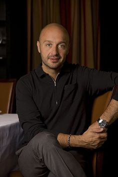 """Joe Bastianich restaurateur and judge on """"Master Chef""""...beautiful & arrogant- perfectly blended. A toxic love concoction...lol"""