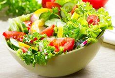 Летний салат - это не только вкусно, но и очень красиво!