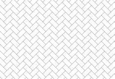 "DIY Herringbone ""Tile"" Floor Using Peel & Stick Vinyl {Knock It Off} - East Coast Creative Blog"