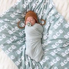 Custom Solid Camel Personalized Newborn Baby Knot Gown   Caden Lane Cute Baby Pictures, Newborn Pictures, Toddler Blanket, Blue Blanket, Swaddle Blanket, Personalized Baby, Baby Names, New Baby Products, Baby Boy