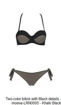 5fec596fd Two-color bikini with Black details   moeva-LRN0005 Back Details