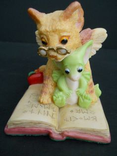 Whimsical World of Pocket Dragons*THE TEACHER*-Real Musgrave -in my collection.