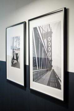 Black and White Photography Framing Photography, White Photography, Photography Gallery, Foyer Paint Colors, Black White Nursery, Monochrome Interior, Interior Design, Eclectic Gallery Wall, Black And White Frames
