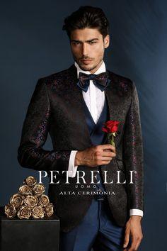 9e35225bfe0 Luxusné pánske obleky Petrelli · Luxusný pánsky oblek svadobny salon  valery, oblek na svadbu, oblek na ples, oblek