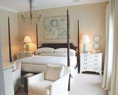 coastal bedroom | Coastal Living Ultimate Beach House in Rosemary Beach