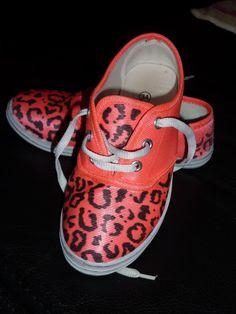 #DIY:: Animal Print #Shoes.