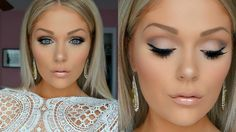 Awesome Bridal Makeup Tutorial 2016 | Wedding Makeup - Must watch for artists and brides... Bridal Makeup Follow Kelly Strack / subscribe to her on Youtube