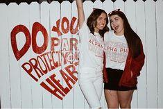 Custom Philanthropy shirts for Alpha Phi at CSULB, only at The Social Life Alpha Phi Shirts, Kappa Delta, Heart Shirt, Greek Life, Sorority, Shirt Designs, Meet, Table, Tables