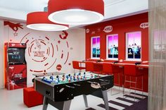 Virgin Holidays flagship store by officeTwelve, London