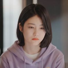 Korean Actresses, Asian Actors, Korean Actors, Korean Girl, Asian Girl, Medium Hair Styles, Short Hair Styles, Web Drama, My Bebe