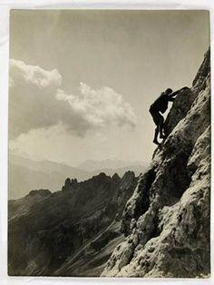 Paul Preuss, pionnier de l'escalade libre.