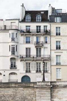 Apartments, Île Saint-Louis Paris