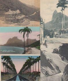Escort Card Idea - Rio de Janeiro Brazil Brasil 100 Vintage Postcards Mostly Pre 1940 | eBay