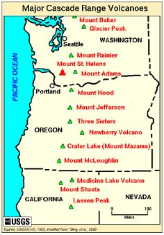 Cascade Range New World Encyclopedia