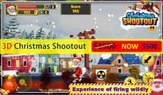 Get ready to launch #3D #Christmas shooting #game with the source code Get hurry discount for limited time..