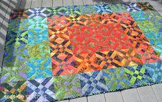 Arrowhead block quilt