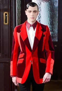 Nick Heymann at Alexander McQueen menswear f/w 2013 Valentine's Day Outfit, Outfit Of The Day, Outfit Ideas, Formal Jacket, Dinner Suit, Nick Bateman, Suits You, Alexander Mcqueen, Menswear