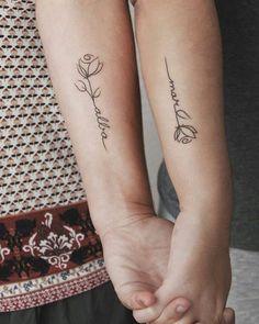 tattoos for moms with kids & tattoos ; tattoos for women ; tattoos for women small ; tattoos for moms with kids ; tattoos for guys ; tattoos for women meaningful ; tattoos for daughters ; tattoos for women small meaningful Model Tattoos, Tattoo Model Mann, Bff Tattoos, Couple Tattoos, Body Art Tattoos, One Word Tattoos, Sleeve Tattoos, Rib Tattoos Words, Twin Tattoos