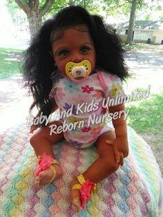 AA reborn baby,African American, Biracial, Made to order, Custom reborn baby…