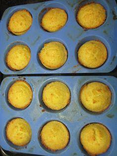 "Stuff I Make My Husband: Low carb ""corn"" muffins (""corn bread"" using coconut flour)"