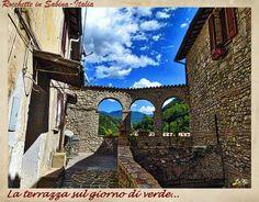 """LA SABINA nel Lazio-ITALIA_""""The Terrace overlooking the green"""""""