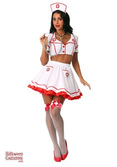 Find sexy Halloween costumes for women, men, and plus-size right here! Shop our selection for the best sexy Halloween costume ideas around! A revealing, sexy costume is sure to make your Halloween or cosplay event a memorable one. Nurse Halloween Costume, Sexy Nurse Costume, Cute Couple Halloween Costumes, Halloween Outfits, Doctor Costume, Sexy Costumes For Women, Fantasias Halloween, Halloween Disfraces, Sensual