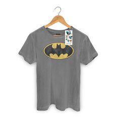 T-shirt Premium Masculina Batman Logo Clássico #Batman #DCComics #bandUPStore