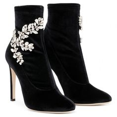 df98793baaddb CELESTE CRYSTAL - Boots - BLACK - Giuseppe Zanotti Giuseppe Zanotti Boots,  3 Inch Heels