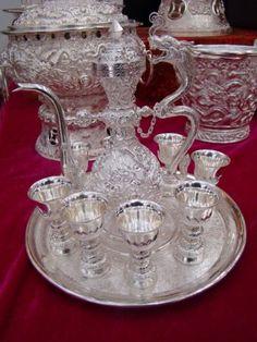 Sliver tea set