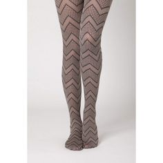 Spotted Zigzag Tights