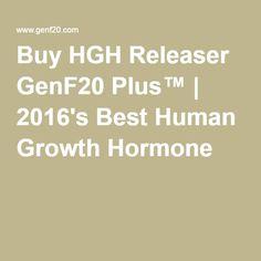 Buy HGH Releaser GenF20 Plus™ | 2016's Best Human Growth Hormone