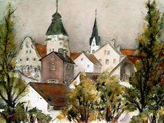'Simbach am Inn' von Chris Berger bei artflakes.com als Poster oder Kunstdruck $20.79